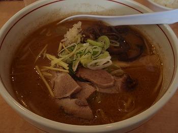 豚そば味噌 (750円)