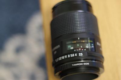 タムロンSP AF90mm F/2.8(52BB)+アダプタ
