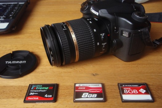 EOS40Dとコンパクトフラッシュ