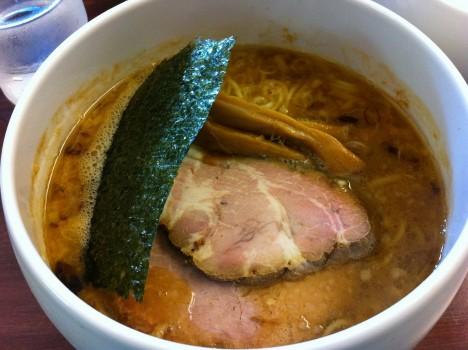 醤油麺コクにごり 500円(オープン特価 五日間限定)