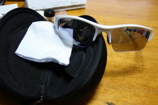 OAKLEY 03-917J FLAK JACKET XLJ ポリッシュドホワイト