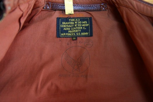 Aero Leather Clothing TYPE A-2