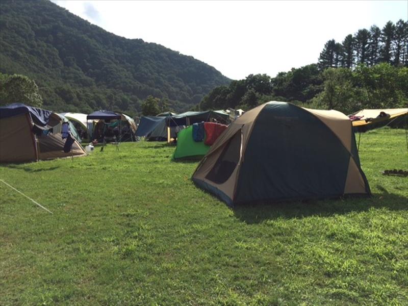 三笠遊園キャンプ場